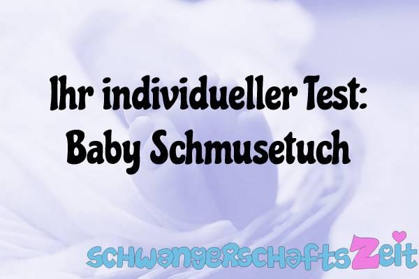 Baby Schmusetuch Test Kaufen