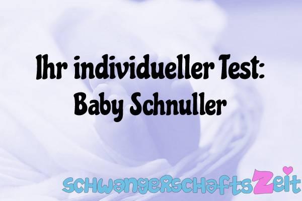 Baby Schnuller Test Kaufen