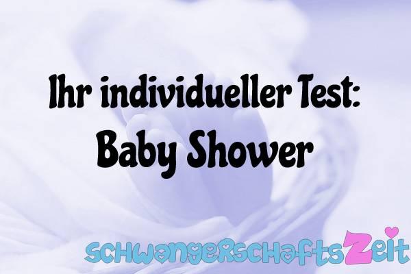 Baby Shower Test Kaufen