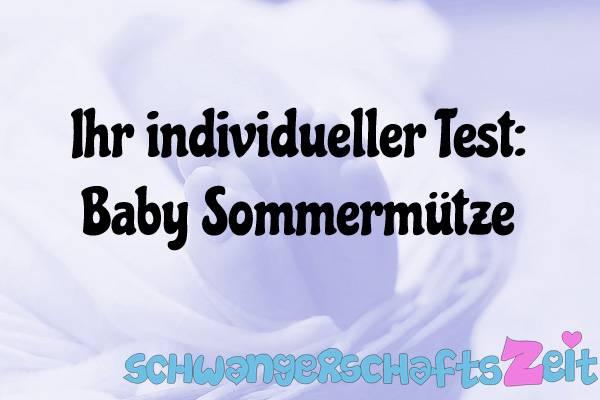 Baby Sommermütze Test Kaufen