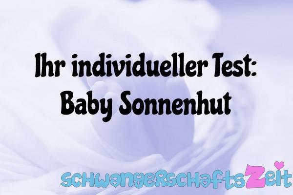 Baby Sonnenhut Test Kaufen