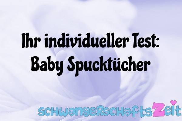Baby Spucktücher Test Kaufen