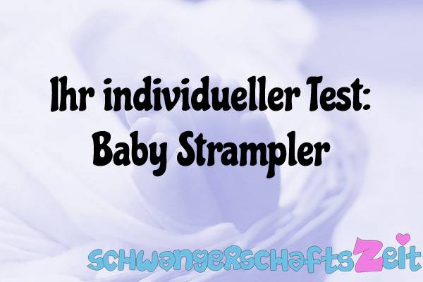 Baby Strampler Test Kaufen