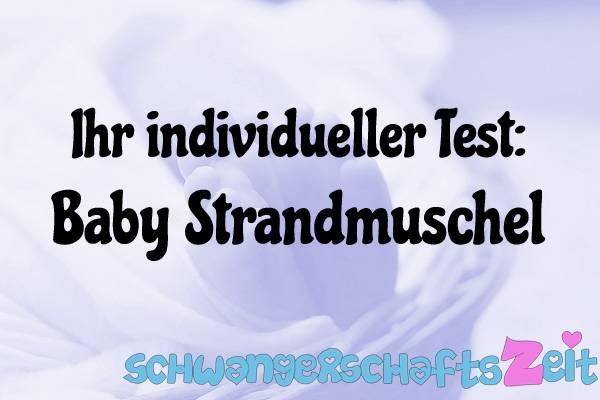 Baby Strandmuschel Test Kaufen
