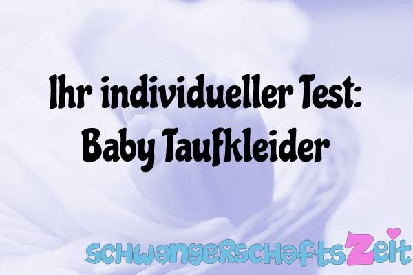 Baby Taufkleider Test Kaufen