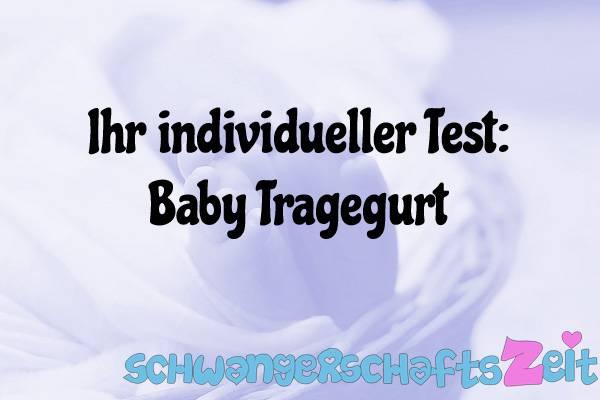 Baby Tragegurt Test Kaufen