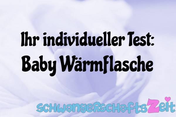 Baby Wärmflasche Test Kaufen