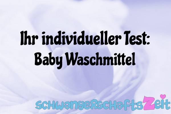 Baby Waschmittel Test Kaufen