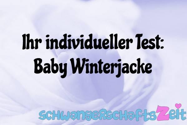 Baby Winterjacke Test Kaufen