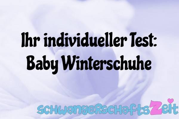 Baby Winterschuhe Test Kaufen