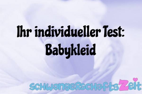 Babykleid Test Kaufen