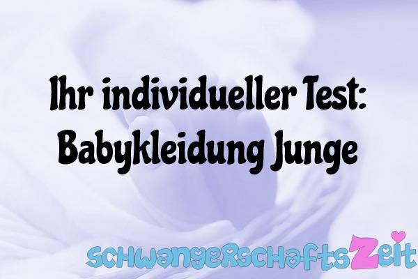 Babykleidung Junge Test Kaufen