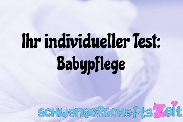 Babypflege Test Kaufen