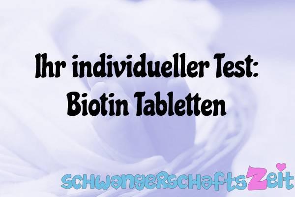 Biotin Tabletten Test Kaufen