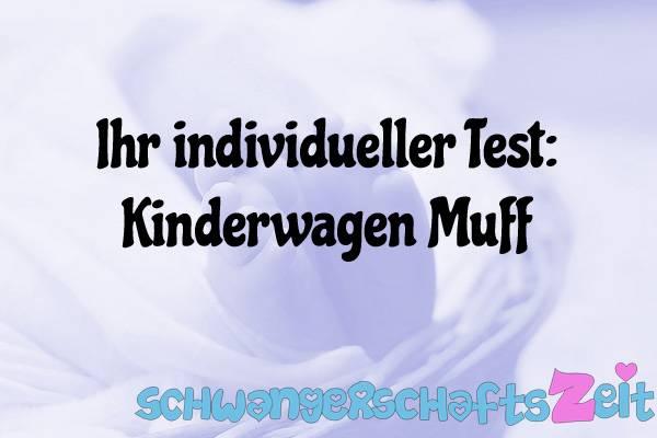 Kinderwagen Muff Test Kaufen