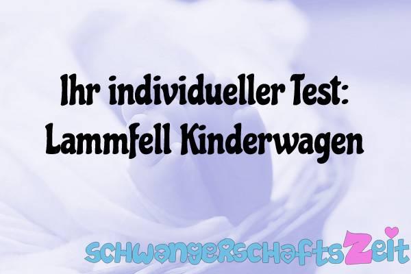 lammfell baby test