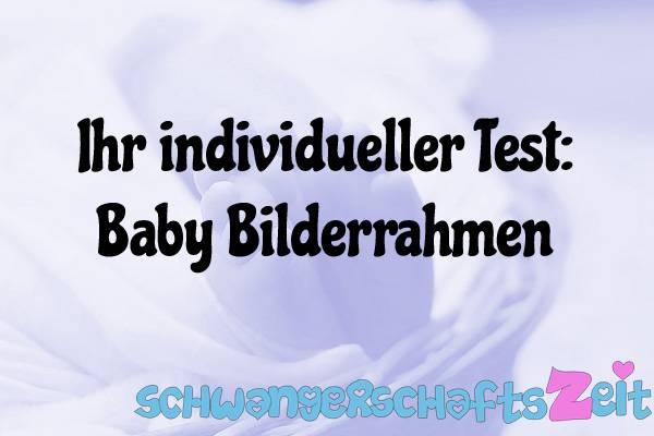 Baby Bilderrahmen Test Kaufen