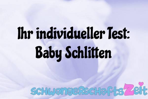 Baby Schlitten Test Kaufen