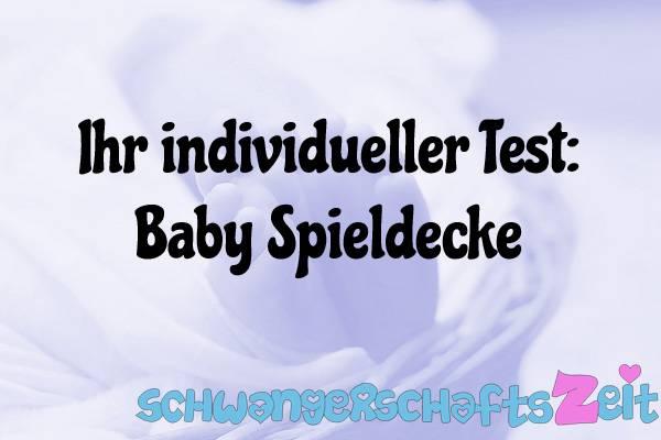 Baby Spieldecke Test Kaufen