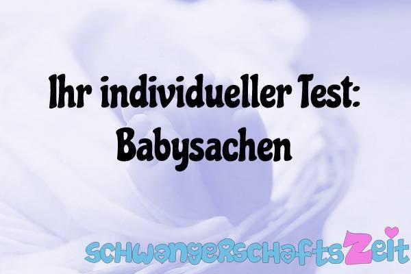 Babysachen Test Kaufen