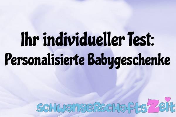 Personalisierte Babygeschenke Test Kaufen