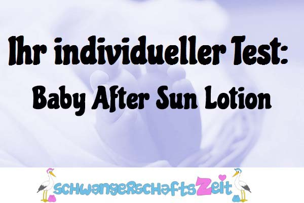 Baby After Sun Lotion