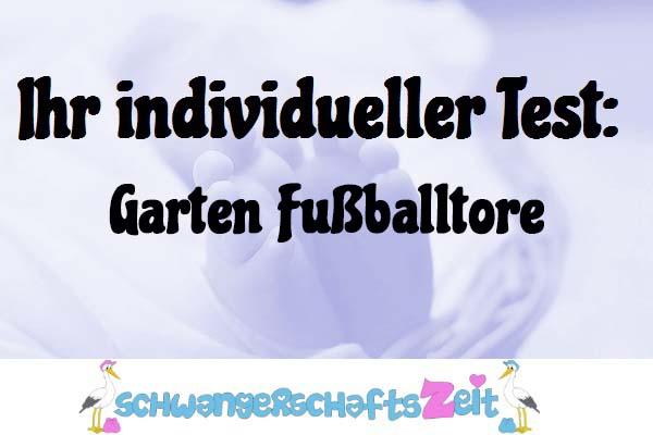 Garten Fußballtore