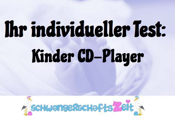 Kinder CD-Player