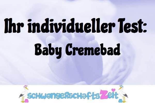 Baby Cremebad