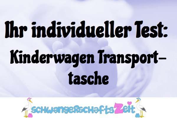 Kinderwagen Transporttasche