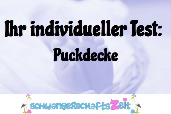 Puckdecke
