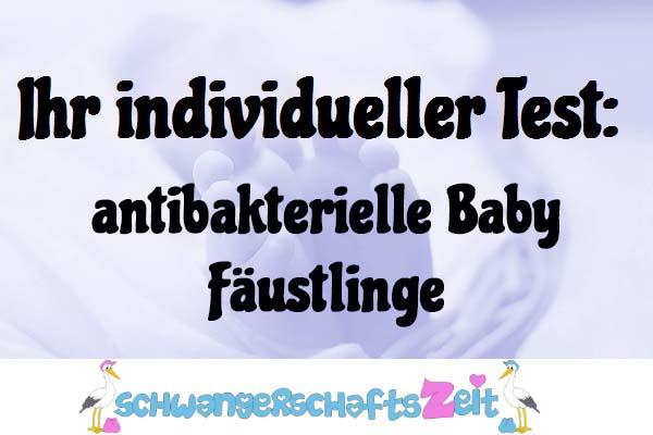 antibakterielle Baby Fäustlinge