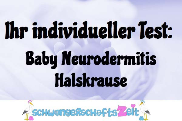 Baby Neurodermitis Halskrause