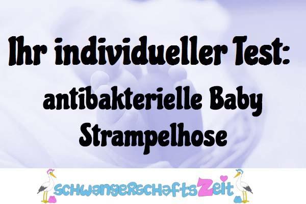 antibakterielle Baby Strampelhose