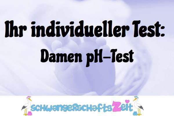Damen pH-Test