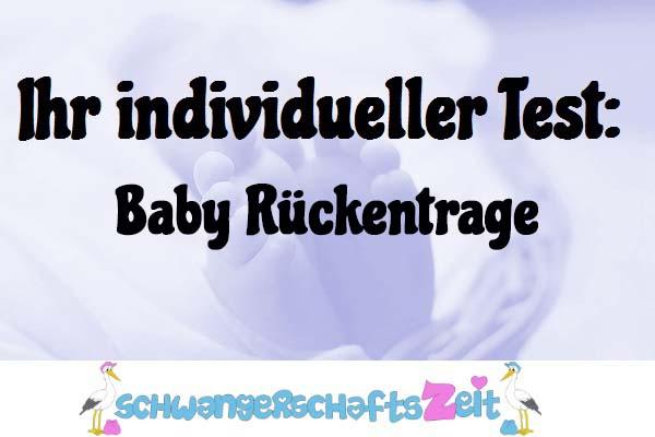 Baby Rückentrage