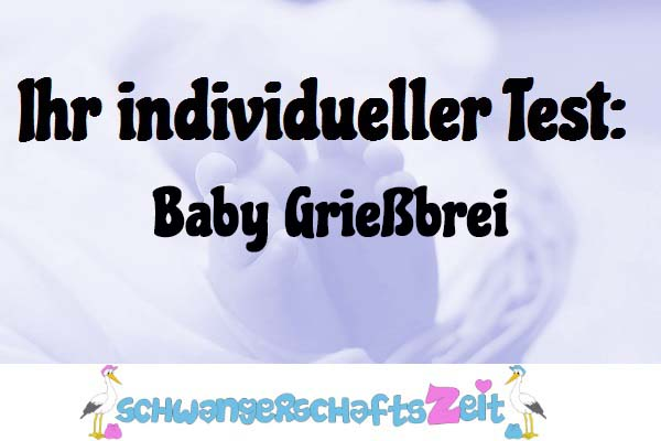 Baby Grießbrei