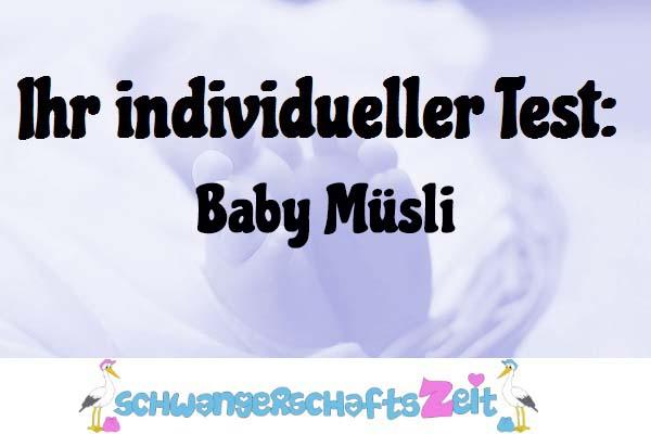 Baby Müsli