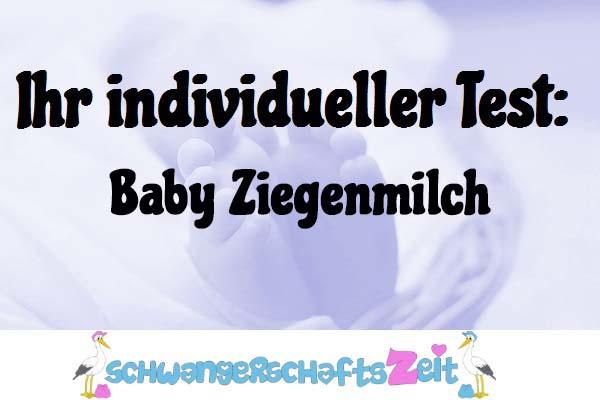Baby Ziegenmilch