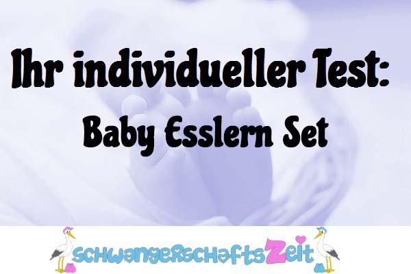 Baby Esslern Set