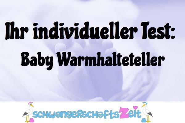 Baby Warmhalteteller