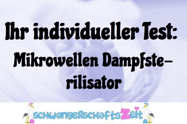 Mikrowellen Dampfsterilisator