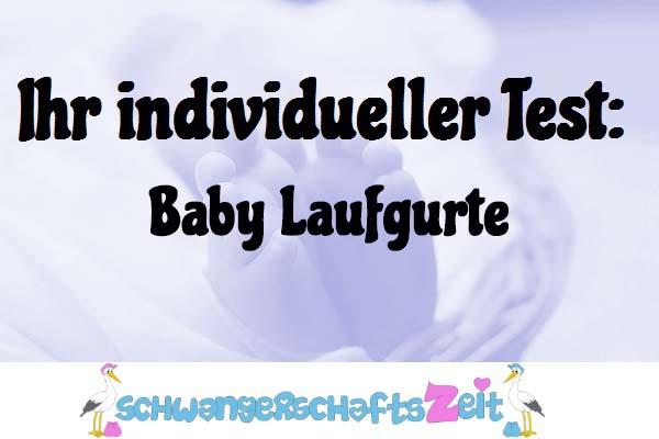 Baby Laufgurte