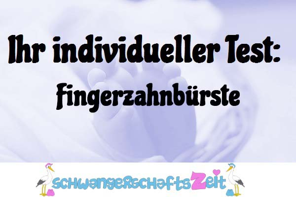 Fingerzahnbürste
