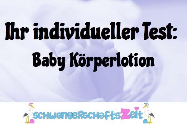 Baby Körperlotion
