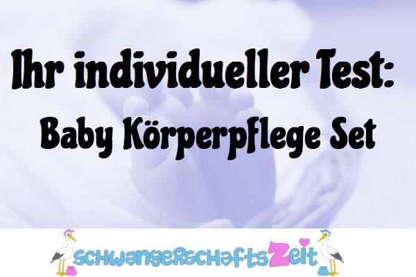 Baby Körperpflege Set