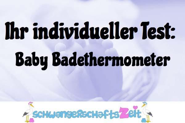 Baby Badethermometer