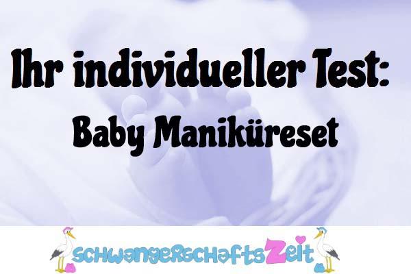 Baby Maniküreset