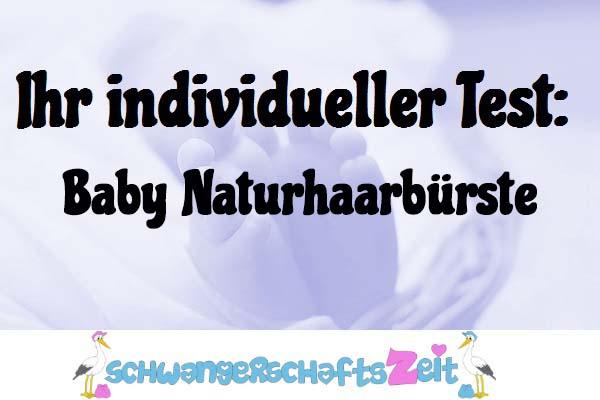 Baby Naturhaarbürste