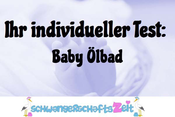 Baby Ölbad